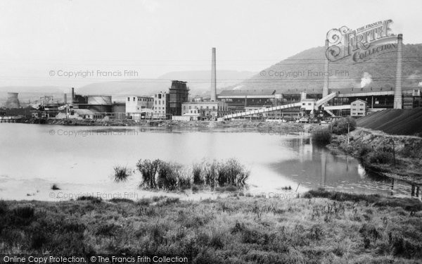 Photo of Abercwmboi, The Phurnacite  Plant c.1955