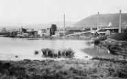 Abercwmboi, the Phurnacite  Plant c1955
