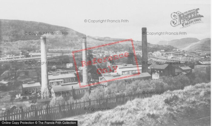 Photo of Abercynon, Colliery c.1955