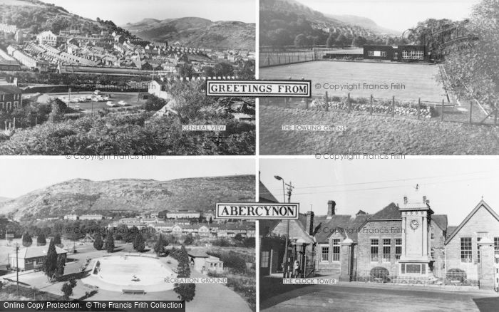 Photo of Abercynon, Composite c.1965