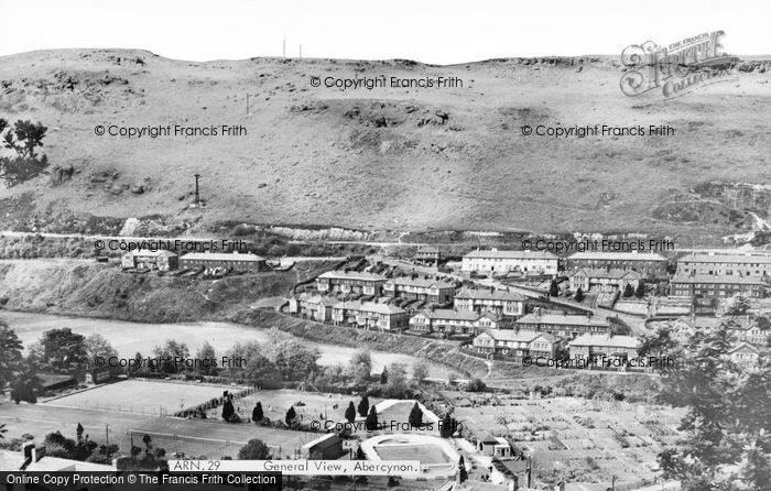 Photo of Abercynon, General View c.1960
