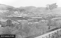 Abercynon, General View From The South c.1955
