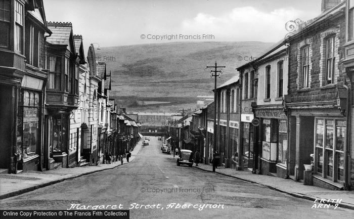 Photo of Abercynon, Margaret Street c.1955