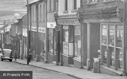 Abercynon, Margaret Street Shops c.1955