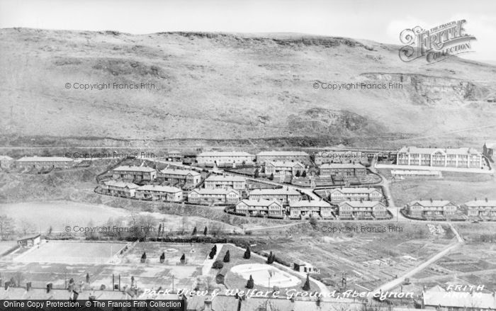 Photo of Abercynon, Park View And Welfare Grounds c.1955