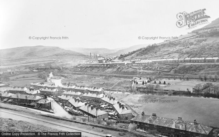 Photo of Abercynon, River Cynon c.1960