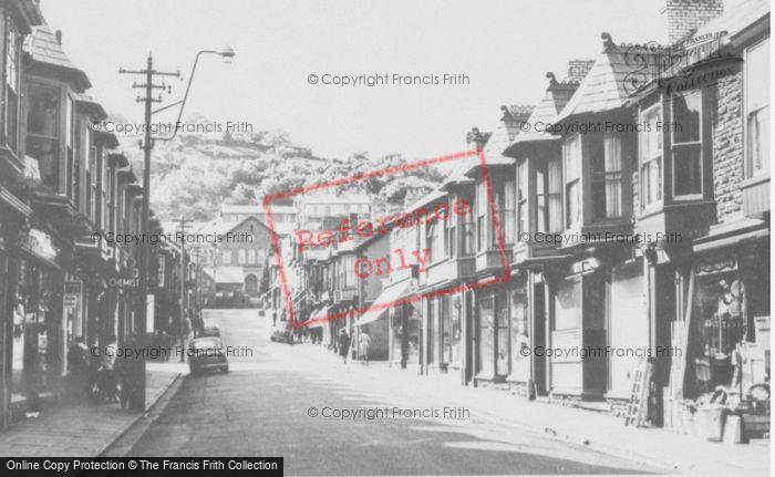Photo of Abercynon, St Margaret's Street c.1960