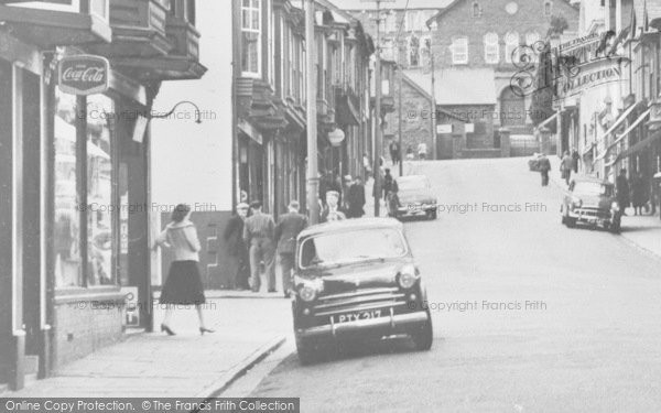 Photo of Abercynon, St Margaret's Street c.1960