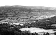 Aberdare, Aberaman And Cwmbach From The Craig c.1960