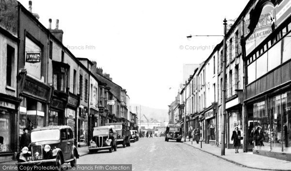 Photo of Aberdare, Cannon Street c.1955