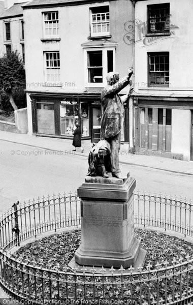 Photo of Aberdare, Caradog Memorial c.1955