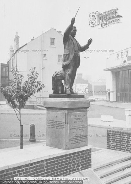 Photo of Aberdare, Caradog Memorial c.1965
