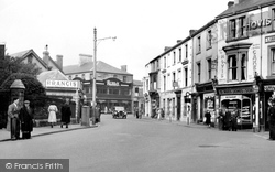 Aberdare, Commercial Street c.1955
