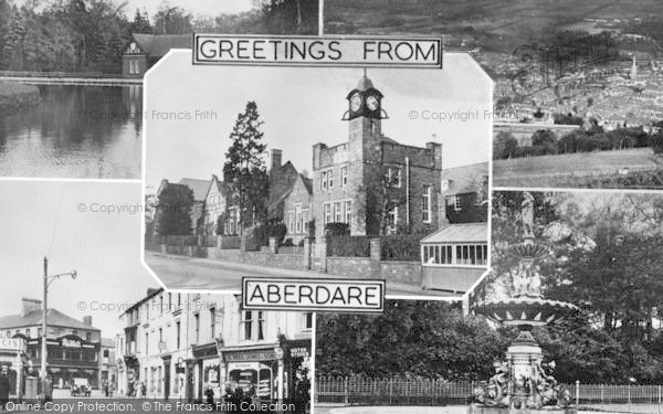 Photo of Aberdare, Composite c.1955
