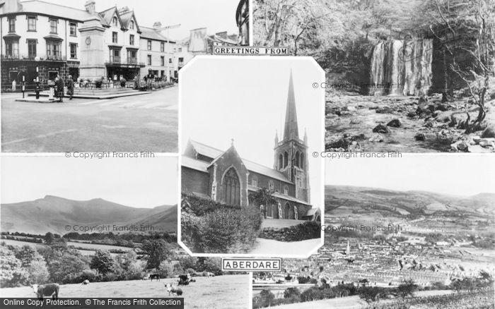 Photo of Aberdare, Composite c.1960