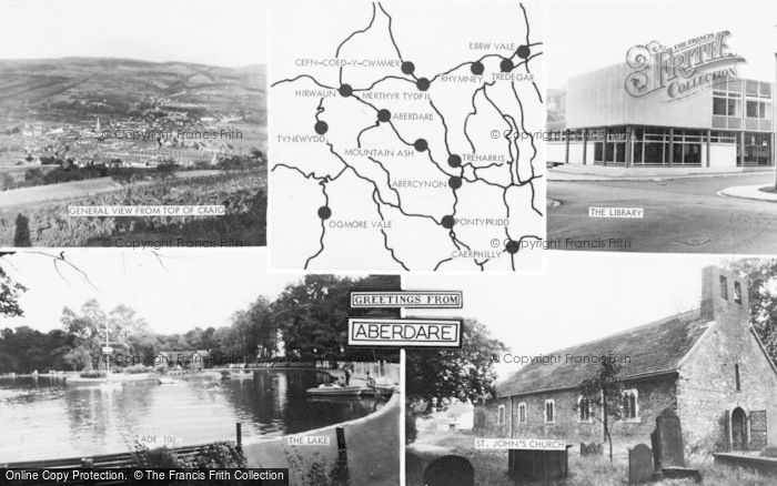 Photo of Aberdare, Composite c.1965