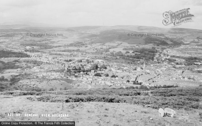 Photo of Aberdare, General View c.1965