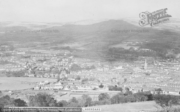 Photo of Aberdare, General View From Top Of Craig c.1955