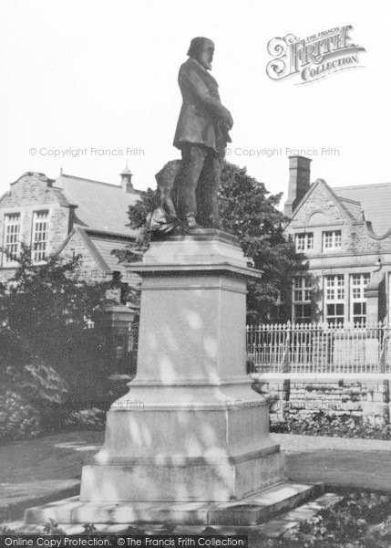 Photo of Aberdare, Lord Merthyr Statue In The Park c.1965
