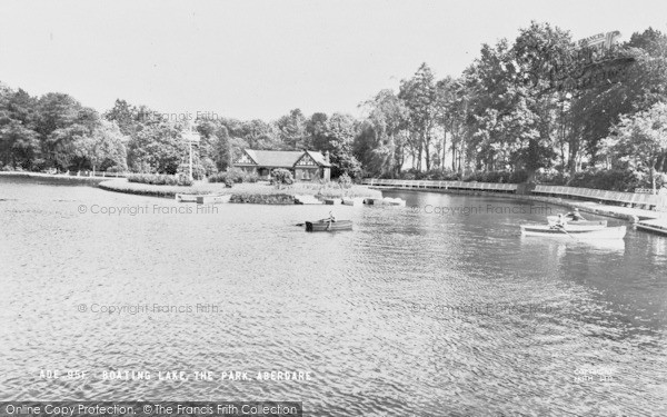 Photo of Aberdare, Park, Boating Lake c.1965
