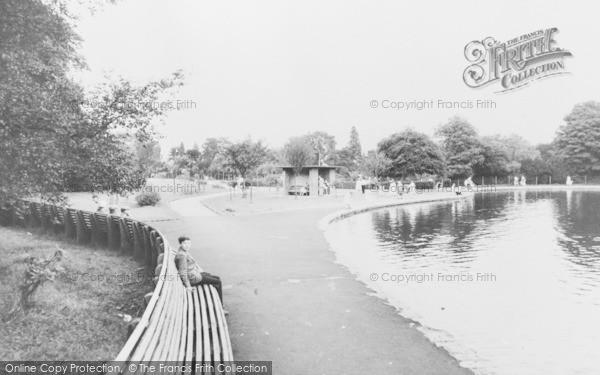 Photo of Aberdare, Park c.1960