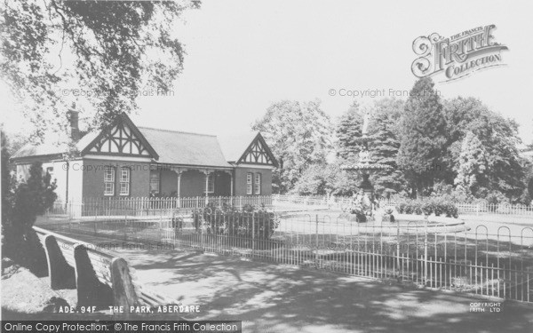 Photo of Aberdare, Park c.1965