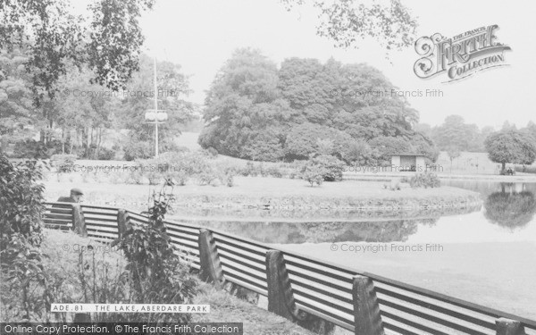 Photo of Aberdare, Park Lake c.1960