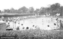 Aberdare, Park, Paddling Pool c.1960