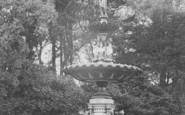 Aberdare, Park, The Fountain c.1955