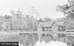 Aberdare, Park, The Lake c.1955
