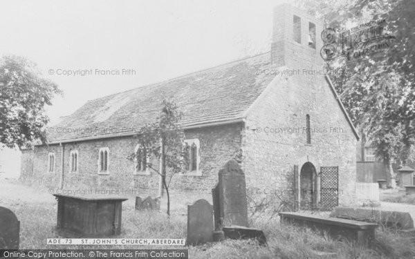 Photo of Aberdare, St John's Church c.1960