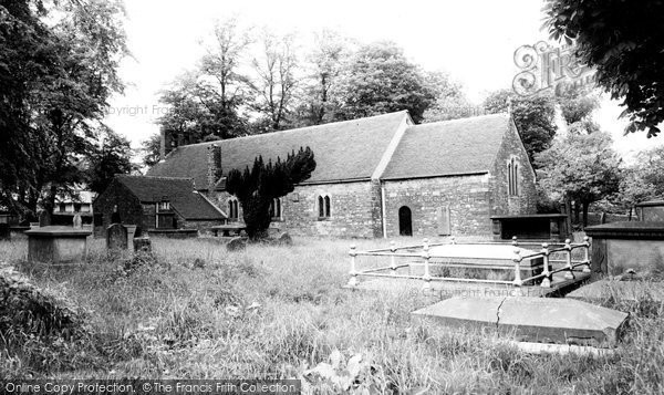 Photo of Aberdare, St John's Church c.1965