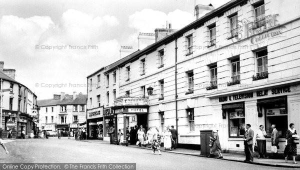 Aberdare, the Boot Hotel c1960