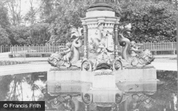 Aberdare, The Fountain, Dolphins And Cupids c.1955