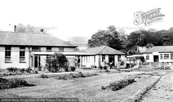 Photo of Aberdare, The Hospital c.1955