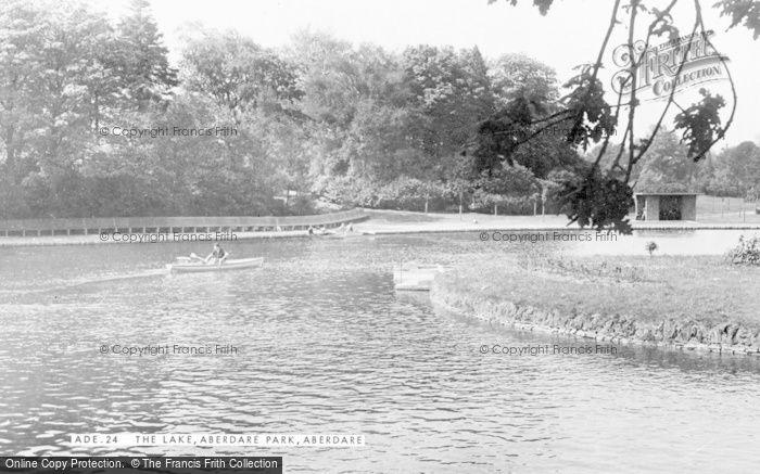 Photo of Aberdare, The Lake c.1955