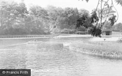 Aberdare, The Lake c.1955