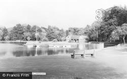 Aberdare, The Lake c.1965