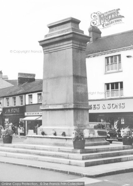 Photo of Aberdare, The Memorial In The Square c.1965