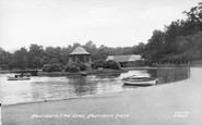 Aberdare, The Park Lake 1937