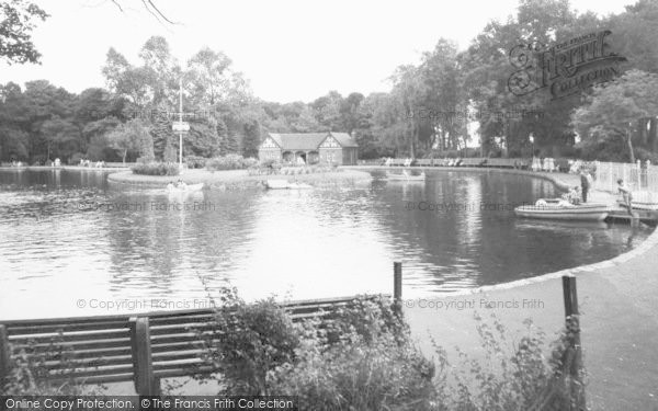 Photo of Aberdare, The Park Lake c.1960