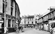Aberdare, The Square c.1955