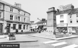 Aberdare, The Square c.1965