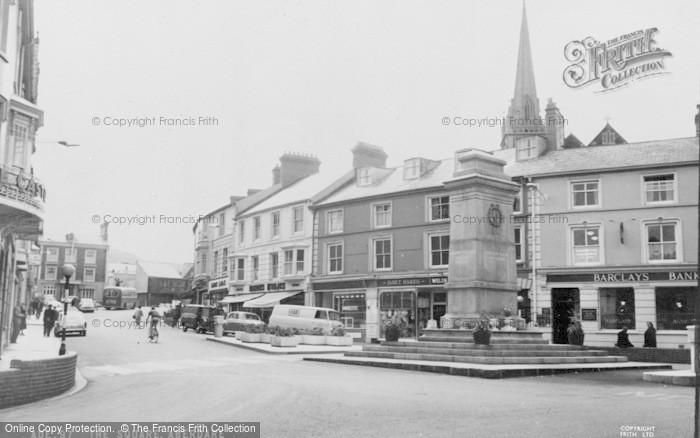 Photo of Aberdare, The Square c.1965
