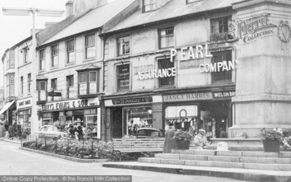 Photo of Aberdare, Victoria Square Shops c.1960