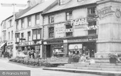 Aberdare, Victoria Square Shops c.1960