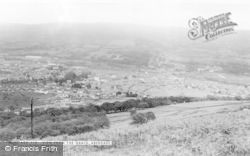 Aberdare, View From The Craig c.1965