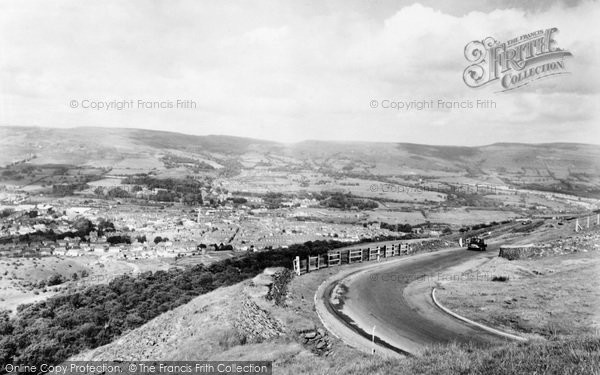 Aberdare, View From The Graig c.1965