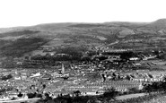 Aberdare, View From Top Of Craig c.1955