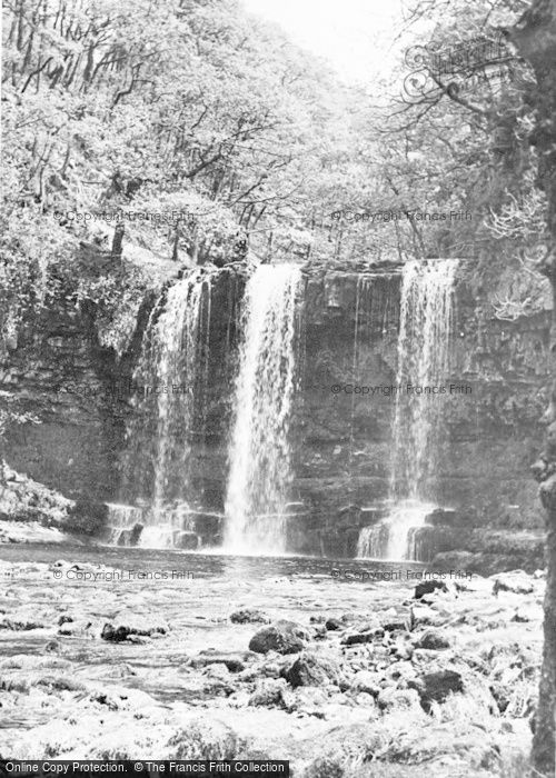 Photo of Aberdare, Ystradfellte Falls c.1955